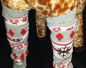 Christmas Holiday Snowflake Themed Baby Legs