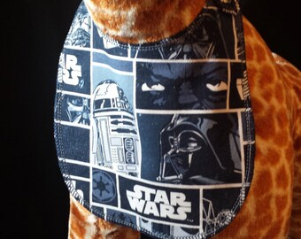 Star Wars Print Baby Bib - Toddler size *On Sale*