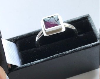 Square Filled Ring