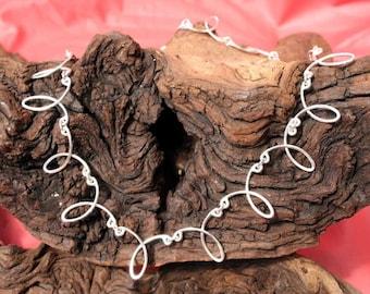 Sterling Silver Teardrop Chain