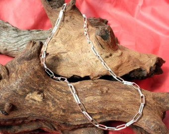 Traditional Native American Sterling Silver Chain