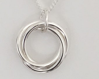 Russian Sterling Silver Pendant