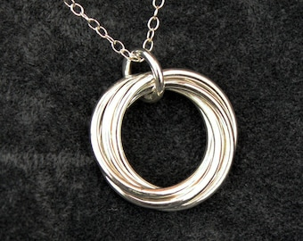 Multi Russian Sterling Silver Pendant