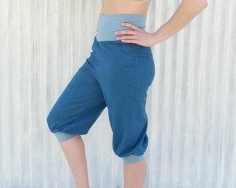 9ea55dc0f2 Hemp & Organic Cotton Yoga Pants - Organic Harem Pants - Made to Order  Rosetta Pants