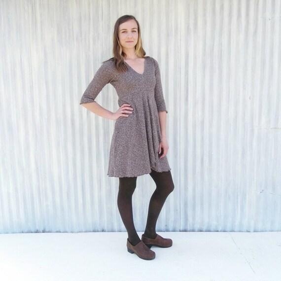 aeff30c8b7856 Mini-robe de chanvre avec manches chanvre   coton bio doublé   Etsy
