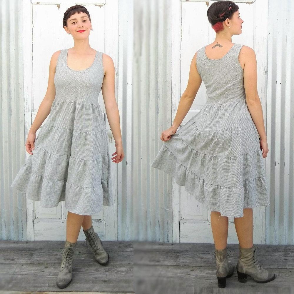 3905cd78e85cc Organic Cotton Peasant Dress Lightweight Summer Dress is