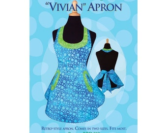 Vivian apron sewing pattern
