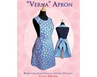 Verna apron sewing pattern