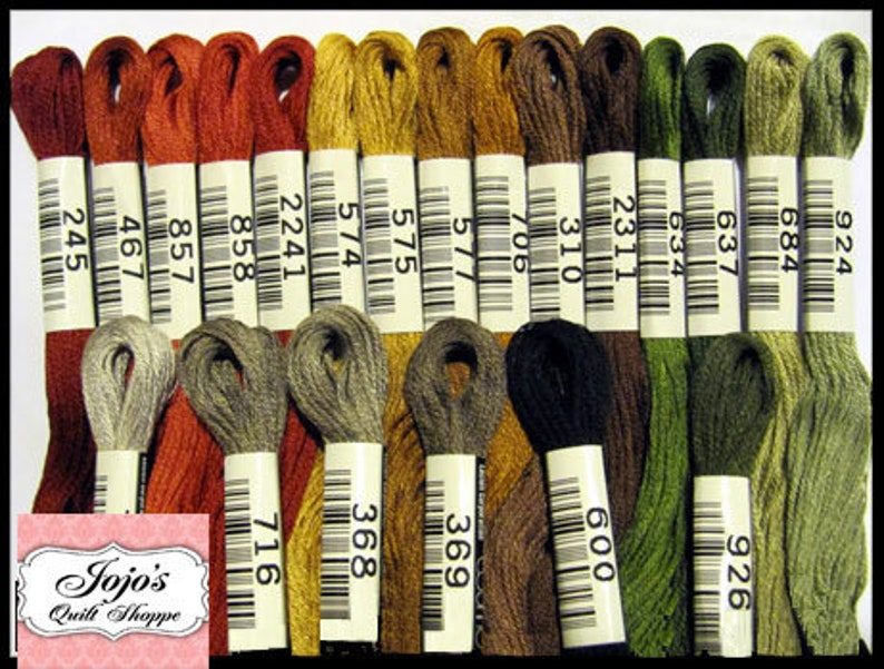 Cosmo Lecien Embroidery No.25 Floss/Thread 8.75 yards 8 image 0