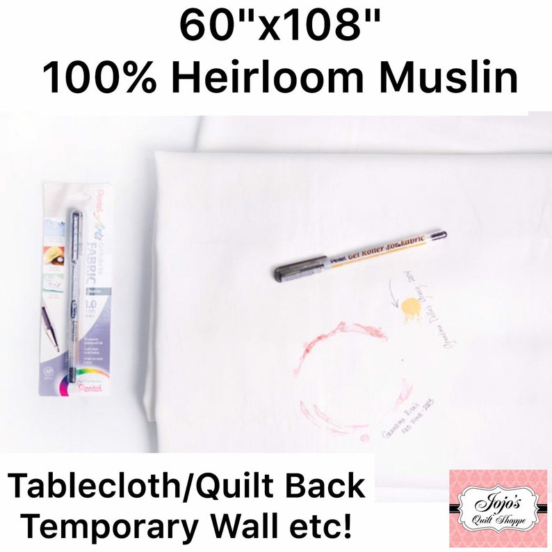 Design yourself a Tablecloth Use as Quilt Backing Create a image 0