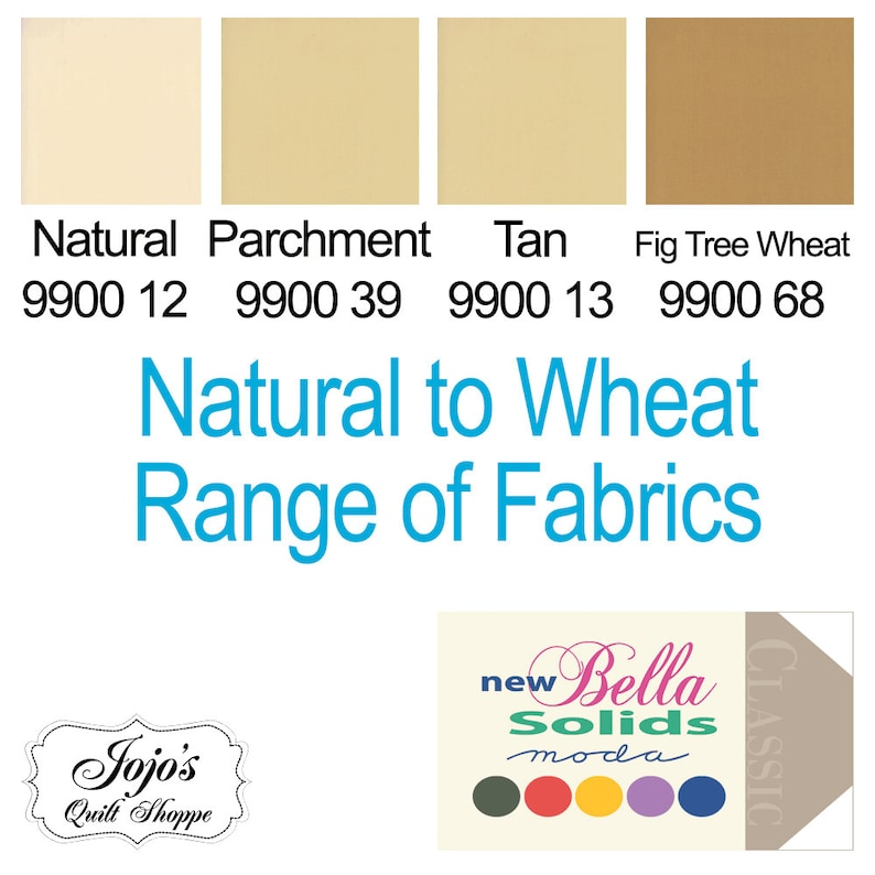 Bella Solids 'Natural Parchment Tan Fig Tree Wheat' image 0