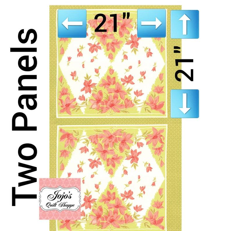 Aloha Girl Kiwi 2 Panels 100% Cotton Yardage by Fig Tree and image 0