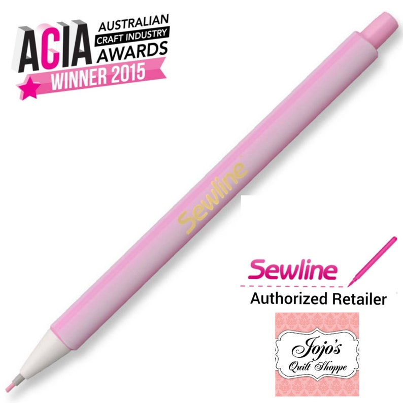 Sewline Tailor's Click Pencil Pink FAB50046 image 0