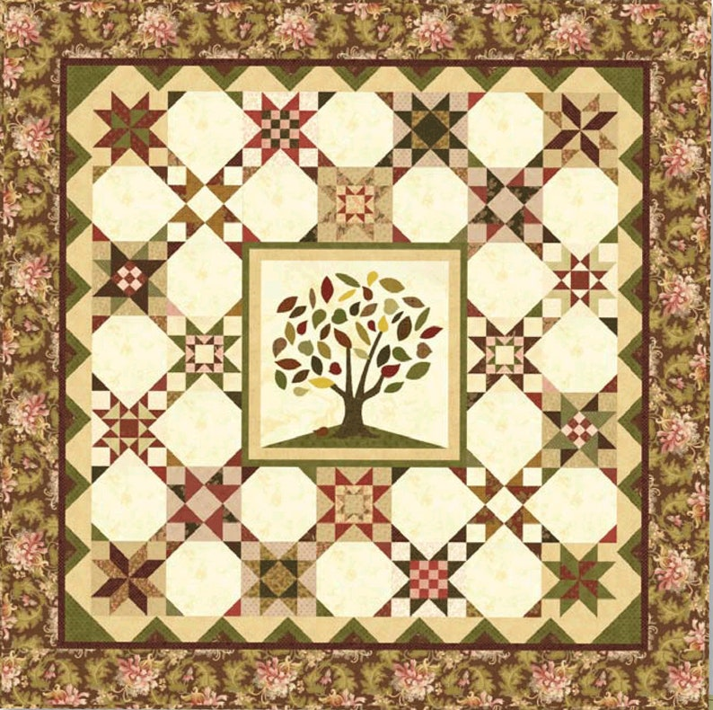 Green Piece Block of the Month Club Revisited Sign up Fee is image 0