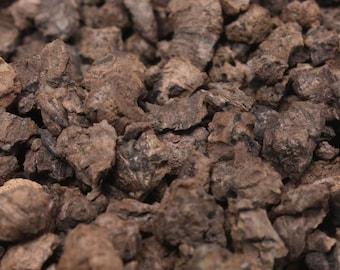 Brown Cork Chunks - Germany Import - 1oz Zipbag, or 1lb bulk - Terra Textures-311-0056- Model Landscape/Diorama /Fairy Garden/Craft Supplies