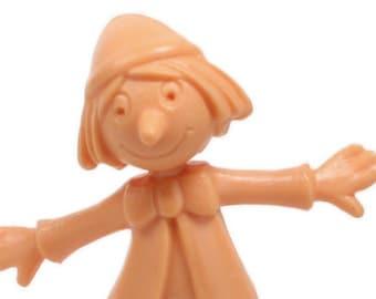 "Dancing Pinocchio - 2"" Tall - Set of 3 - 203-3-078 - Miniature Figures/Dollhouse Miniatures/Craft/Modelling Supplies/Diorama Figures"
