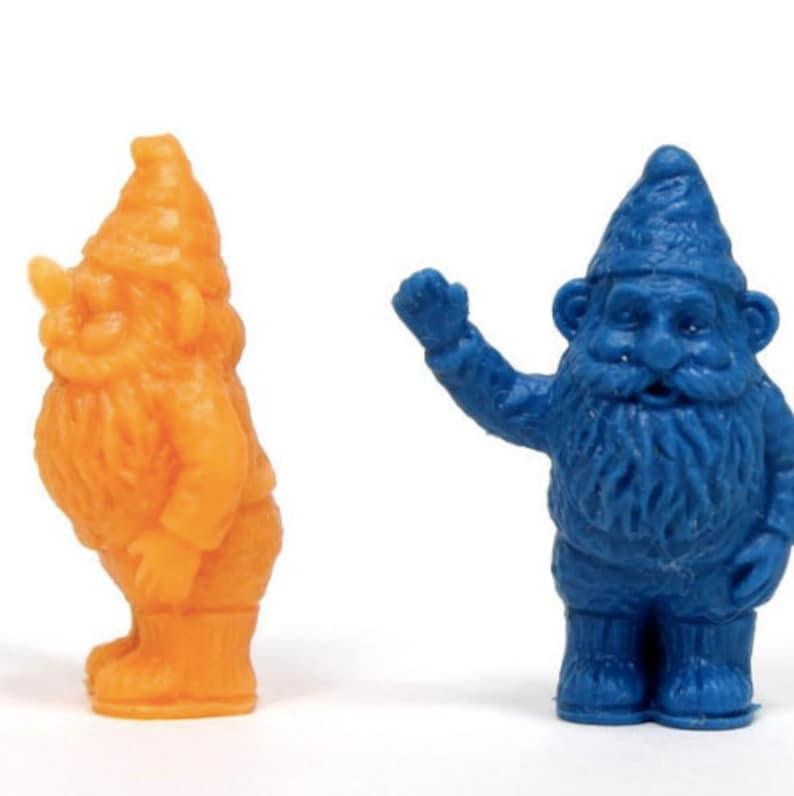 Nains de jardin miniature 1 de haut 2 Orange bleu/2 | Etsy