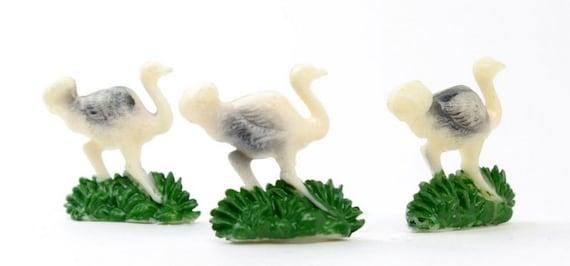 Vintage Ostrich Miniatures IV3-2506 12 pcs German