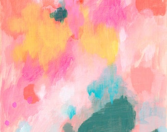 abstract fine art print . hopeful . a4 - large format, 5 sizes