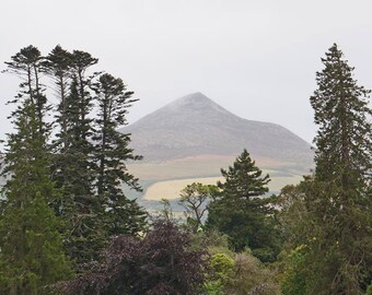 Sugar Loaf, Sugarloaf, Ireland Photography, Wall Art, Wicklow Mountians, Irish Decor, Fine Art, Office Artwork, 8 x 10 Print, Wall Decor