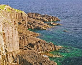 Ring of Kerry Ireland Coast, Fine Art Nature Photography, Irish Seascape Print, Wall Art, 8 x 10 Home Decor