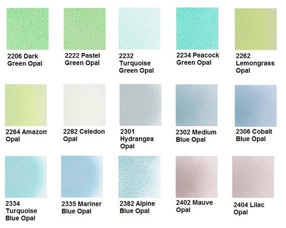 8.5oz Powder 96 COE Oceanside Urobium Pink Opal Frit