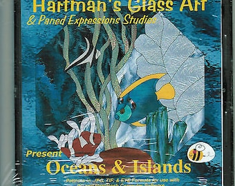 Oceans and Islands Fish Paned Expressions Book on CD 60+ Great Patterns + Bonus