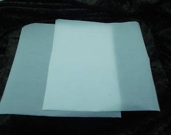 2 Pieces 12x12 Inch Paper-thin Teflon Sheets for Rolling Out PMC ART CLAY Polymer