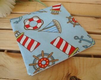 Eco Friendly Sailing Reusable Sandwich Snack Bag