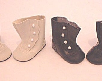 Black Button boots for your American Girl Doll