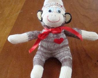 Miniature  Mini Sock Monkey
