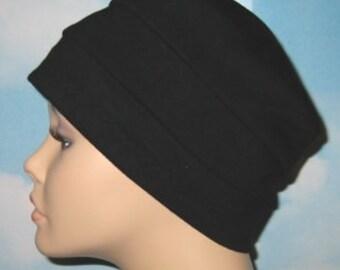 17cd9f86983 3-Band Black Chemo Hat
