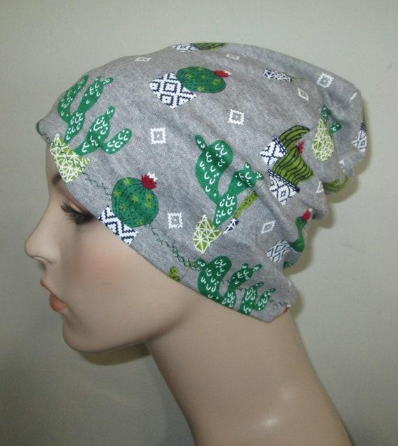Chemo Slouchy Mickey Mouse Print Cap  Sleep  Hospital Hat  Alopecia