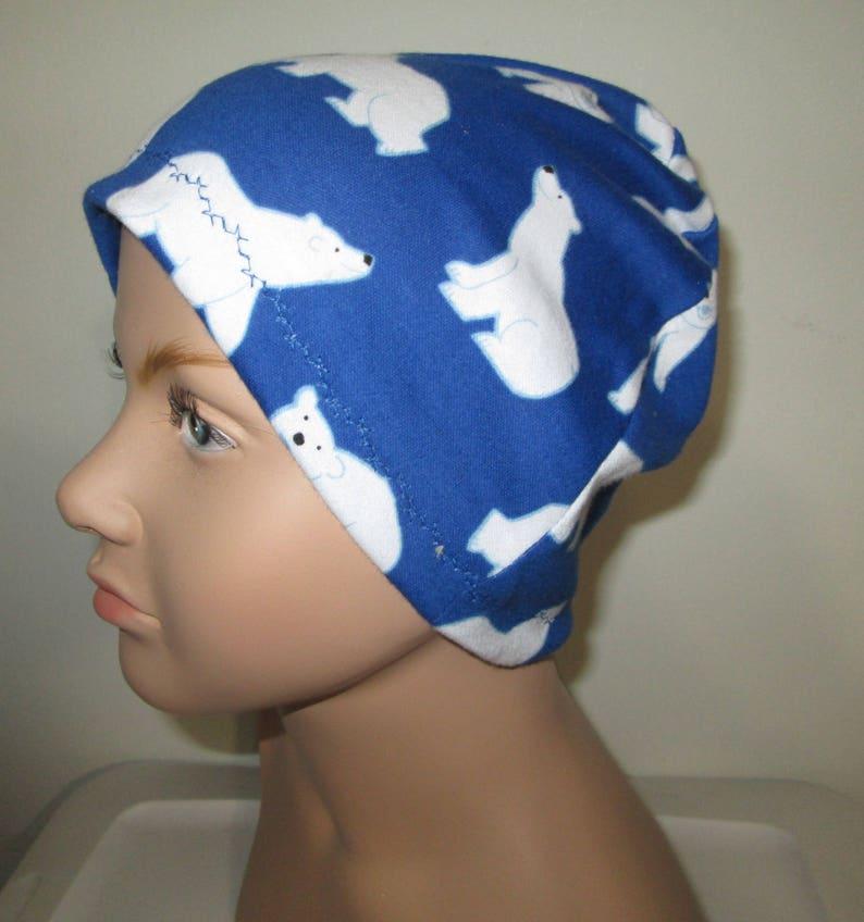 Kids Child Chemo Hat Spiderman New Alopecia Sleep Cap Cancer Hat