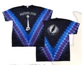 Grateful Dead Starshine Tie Dye Shirt  Size XL   Deadhead  SYF  Jerry Garcia Hippie  Mens clothing