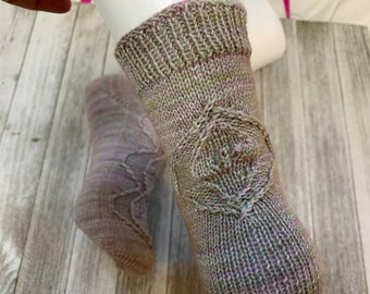 Inhale, Exhale Sock Pattern