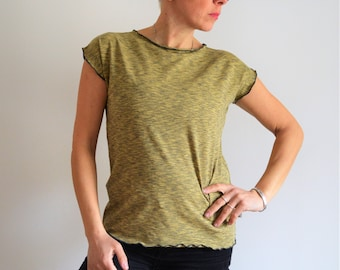 T shirt,organic tees,organic t shirt,women clothings,tees,vegan tees women,ecofriendly tops,organic tops,cool t shirt,sunflowerdesign