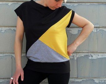 Handmade tee  women,t shirt in cotton, fashion t shirt, tops women,women's clothing