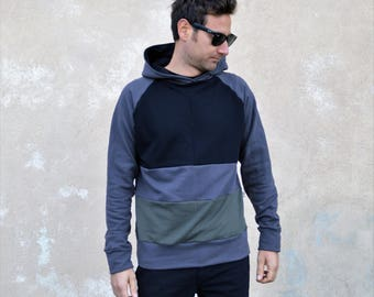 Hoodie sweatshirt for men , men's clothing,design clothing,hoodies for men, men's hoodie,men's sweatshirt, sweatshirt, mens top, organic