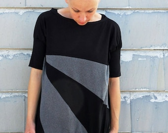 loose fit t shirt,organic tees,organic top,organic clothing,women clothings,loose fit tee,tops,t shirt dress,mini dress,ecofriendly