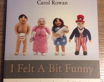 I Felt A Bit Funny - A book about creating crazy caricatures from needle-felted wool