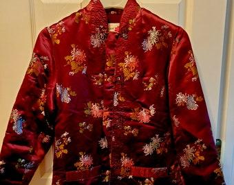 DONNA DI CUORI/'s vintage checked multicolored blazer jacket made in 80s United Kingdom