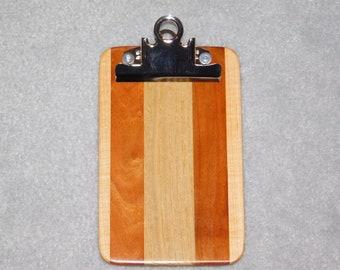 """Mini Wood Clipboard  (4""""x6.5"""")"""