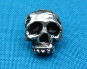 small Skull Button, 7 16 quot