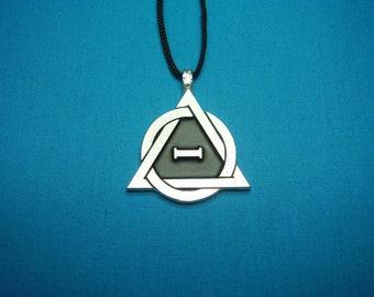 Medium Therian Pride Symbol Necklace