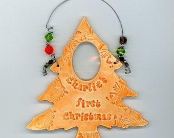 Personalized PHOTO tree Ornament