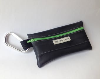 Zipper Bag- Green