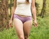 Hipster Bikini Panties Soft Comfort Organic Cotton Hemp Underwear Eco Fashion