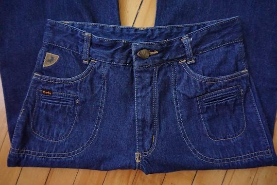 vintage bell bottoms pants vintage denim 70s bell… - image 5