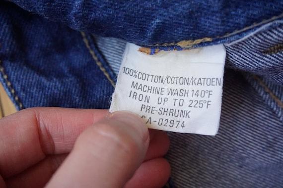 vintage bell bottoms pants vintage denim 70s bell… - image 8